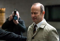 © Licensed to London News Pictures. 21/01/2018. London, UK. UKIP party leader HENRY BOLTON is seen arriving at Broadcasting House in London ahead of radio and television appearances. The Uk Independence Part NEC is due to meet today to discuss Henry Bolton's leadership following a number of unfavourable stories about Bolton's private life.  Photo credit: Ben Cawthra/LNP
