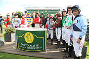 The 2019 Leger Legends Line Up  during the opening day of the St Leger Festival at Doncaster Racecourse, Doncaster, United Kingdom on 11 September 2019.