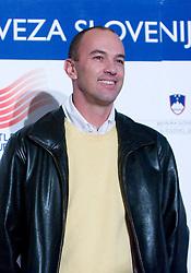 Borut Bilac at Best Slovenian athlete of the year ceremony, on November 15, 2008 in Hotel Lev, Ljubljana, Slovenia. (Photo by Vid Ponikvar / Sportida)
