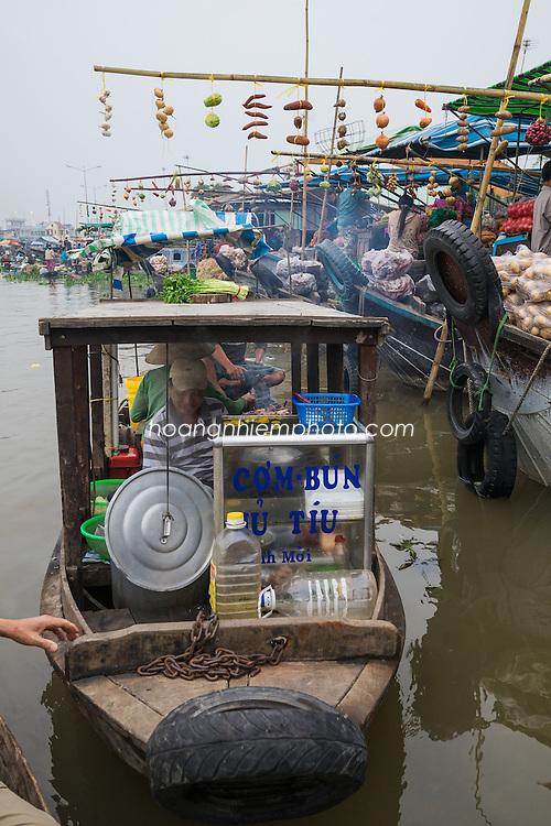 Vietnam Images- Floating Market-Chợ nổi-Sóc Trăng