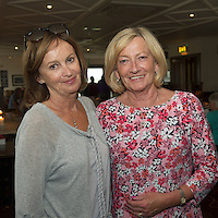 23/08/2015 REPRO FREE Emer Coppinger, Salthill, and Carmel O&rsquo;Shaughnessy Bearna,  at Connemara Golf Club in Ballyconneely Co Galway  where Ryan Tubridy received honorary Life Membership from the Club .<br /> Photo:Andrew Downes, xposure.