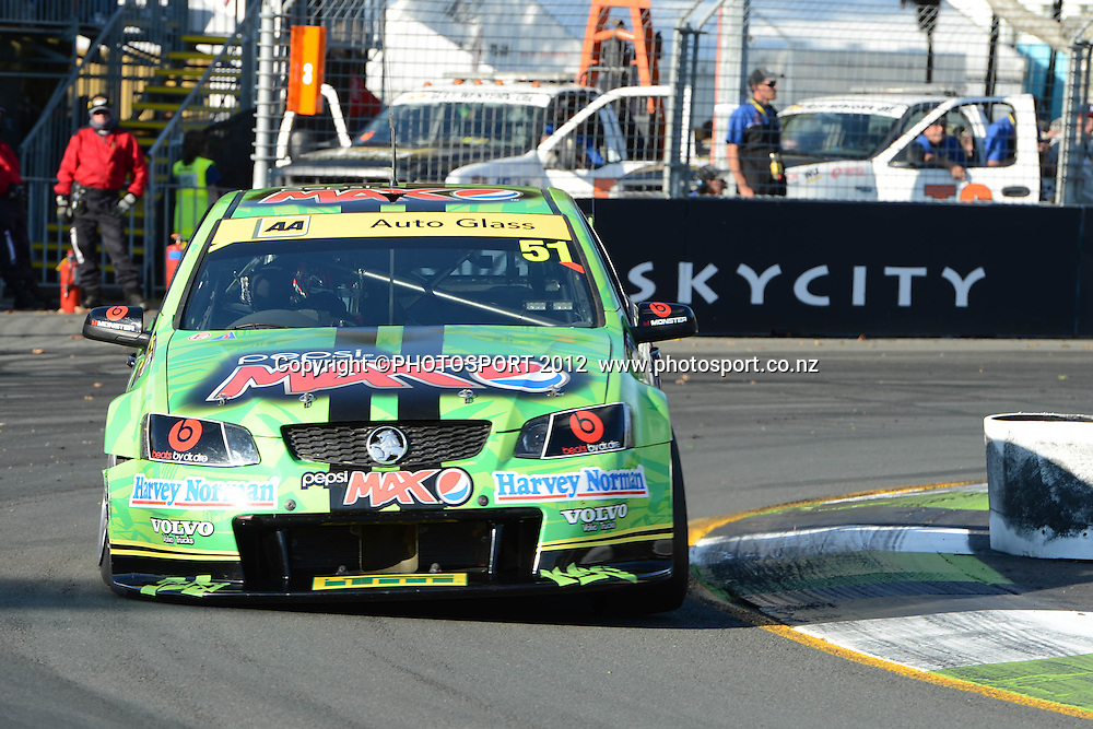 Pepsi Max Crew's Greg Murphy action during  Race 5 of the ITM 400 Hamilton,Hamilton Street Circuit, Day Two, Hamilton City ,V8 supercars,, Photo: Dion Mellow / photosport.co.nz