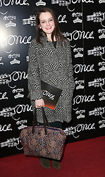 Actress Sophie McShera  arriving for the opening night of the West End production of the Broadway hit musical Once in London ,Tuesday, 9th April 9th 2013 Photo by: Stephen Lock / i-Images