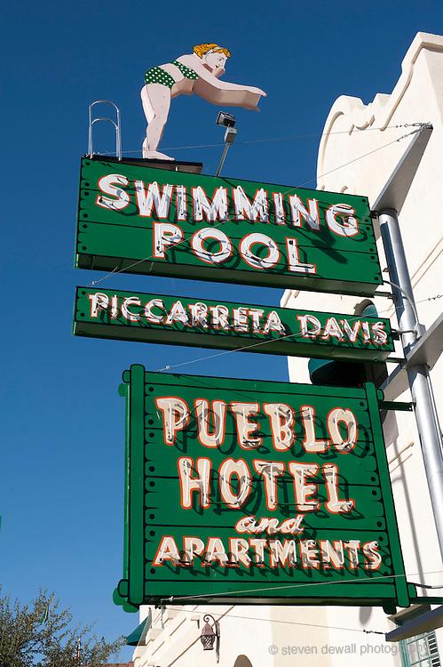 Tucson Arizona Pueblo Hotel