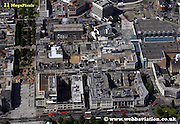aerial photograph of Royal Parade   Plymouth   Plymouth Devon , England UK