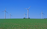 AYBR25 Onshore wind turbines West Somerton Norfolk England