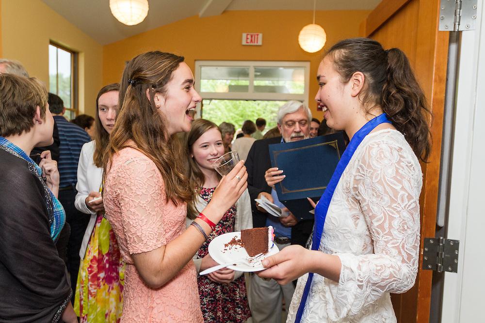 Maine Coast Waldorf School graduation