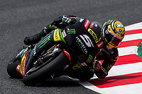 Johann Zarco of France and Monster Yamaha Tech 3 Team rides during free practice for the MotoGP of Catalunya at Circuit de Catalunya on June 9, 2017 in Montmelo, Spain.(ALTERPHOTOS/Rodrigo Jimenez)