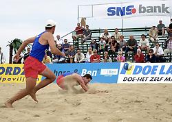 20-08-2000 NED: NK BEACH 2000 SCHEVENINGEN<br /> Sander Mulder