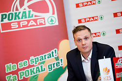 Jaka of KZS at press conference before Finals of Spar Cup 2018, on January 31, 2018 in Ljubljana, Slovenia. Photo by Urban Urbanc / Sportida