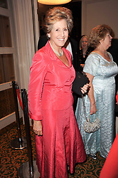 DAME NORMA MAJOR at a gala dinner in celebration of 80 years since the first Foyles Literary Luncheon, held in The Ball Room, Grosvenor House Hotel, Park Lane, London on 21st October 2010.