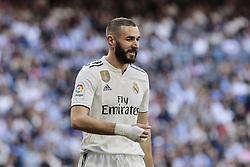 March 16, 2019 - Madrid, Madrid, Spain - Real Madrid's Karim Benzema seen in action during La Liga match between Real Madrid and Real Club Celta de Vigo at Santiago Bernabeu Stadium in Madrid, Spain. (Credit Image: © Legan P. Mace/SOPA Images via ZUMA Wire)