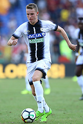 September 23, 2017 - Rome, Italy - Jakub Jankto of Udinese during the Italian Serie A football match AS Roma vs Udinese on September 23, 2017 at the Olympic stadium in Rome. (Credit Image: © Matteo Ciambelli/NurPhoto via ZUMA Press)