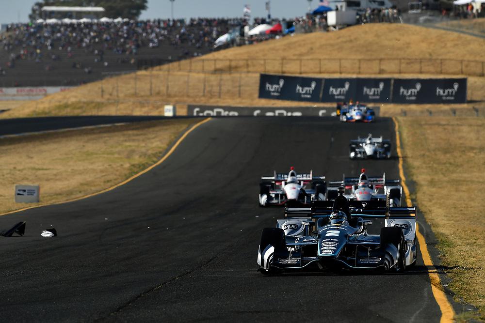 Verizon IndyCar Series<br /> GoPro Grand Prix of Sonoma<br /> Sonoma Raceway, Sonoma, CA USA<br /> Sunday 17 September 2017<br /> Josef Newgarden, Team Penske Chevrolet<br /> World Copyright: Scott R LePage<br /> LAT Images<br /> ref: Digital Image lepage-170917-son-11038