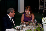 SOL KERZNER; SARAH DUCHESS OF YORK, The Ormeley dinner in aid of the Ecology Trust and the Aspinall Foundation. Ormeley Lodge. Richmond. London. 29 April 2009