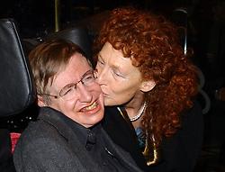 Stephen Hawking and his wife Elaine Mason.