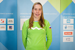 Nina Klemencic during presentation of Team Slovenia at Lillehammer 2016 Winter Youth Olympic games, on February 4, 2016 on Bled, Slovenia. Photo by Ziga Zupan / Sportida