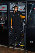 Kevin Stewart of Hull City arrives at Ewood Park, Blackburn ahead of during the FA Cup match between Blackburn Rovers and Hull City<br /> Picture by Matt Wilkinson/Focus Images Ltd 07814 960751<br /> 06/01/2018