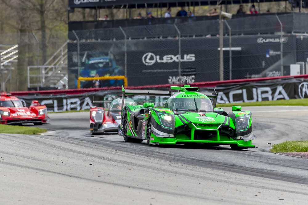 May 6, 2018 - Lexington, Ohio, United States of America - The Tequila Patron ESM Nissan DPI car races through the turns during the Acura Sports Car Challenge race at the Mid-Ohio Sports Car Course in Lexington, Ohio. (Credit Image: © Walter G Arce Sr Asp Inc/ASP via ZUMA Wire)