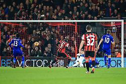 Goal, Marc Pugh of Bournemouth scores, Bournemouth 1-0 Leicester City - Mandatory by-line: Jason Brown/JMP - 13/12/2016 - FOOTBALL - Vitality Stadium - London, England - AFC Bournemouth v Leicester City - Premier League