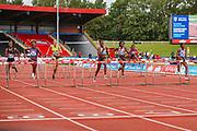 Women's 100m Hurdles Final during the Muller Grand Prix at Alexander Stadium, Birmingham, United Kingdom on 18 August 2019.