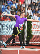 att Denny (AUS) places fourth in the discus at 209-11 (63.99m) during the IAAF Continental Cup 2018 at Mestkey Stadion in Ostrava, Czech Republic, Saturday, Sept. 8, 2018. (Jiro Mochizuki/Image of Sport)