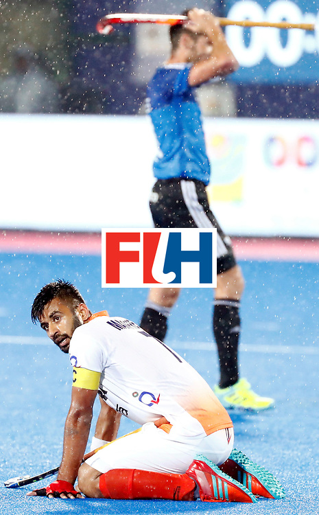 Odisha Men's Hockey World League Final Bhubaneswar 2017<br /> Match id:19<br /> India v Argentina<br /> Foto: Argentina wins the Semi Final from India <br /> Alan Andino (Arg) <br /> COPYRIGHT WORLDSPORTPICS KOEN SUYK