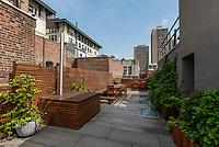 Courtyard at 181 Sullivan Street