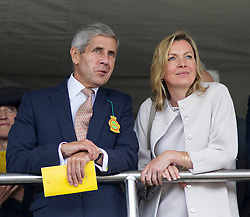 British businessman Sir Stuart Rose on the second day of Glorious Goodwood<br /> London, United Kingdom,<br /> Wednesday, 31st July 2013<br /> Picture by i-Images