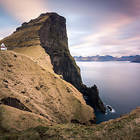 Kallur Lighthouse, Kalsoy, Faroe Islands