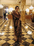 Margherita Missoni. 2002 Debutanes getting ready. Crillon. Paris Friday, 6 December 2002. © Copyright Photograph by Dafydd Jones 66 Stockwell Park Rd. London SW9 0DA Tel 020 7733 0108 www.dafjones.com