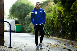 Alfie Kilgour of Bristol Rovers arrives at Memorial Stadium prior to kick off - Mandatory by-line: Ryan Hiscott/JMP - 10/11/2019 - FOOTBALL - Memorial Stadium - Bristol, England - Bristol Rovers v Bromley - Emirates FA Cup first round