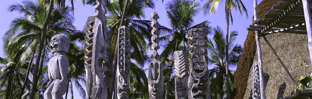 Pu'uhonua O Honaunau, Island of Hawaii, Hawaii, USA<br />