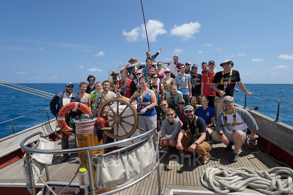 Master - Jason Quilter | Associate Professor, Oceanography - Amy NS Siuda | Chief Mate<br /> - Jullie Jackson | 2nd Mate - Jill Hughes | 3rd Mate - Andrew Pape | Engineer - Alex Myers | Steward - Lauren Heinen | Asst Steward - Becky Slattery |  Chief Scientist - Amy Siuda | 1st Asst Scientist - Chrissy Dykeman | 2nd Asst Scientist &ndash; Laura Cooney | 3rd Asst Scientist - Brittany Mauer | Sailing Intern - Gabrielle Page | Sailing Intern - Sam Lemonick | Sailing Intern - Kelly Speare | William Melvin | Lars Abromeit | Robert Barlow | Tony Hoffman | Robbie Smith | Solvin Zankl | | Students, C252 | Grace Ballou | Callie Bateson | Zachary Bourgault | Torey Bowser | Miranda Camp | Connor Dixon | Luke Gervase | Manuel Nieves Ortiz | Brandon O'Brien | Chelan Pauly | Mei Jia Tan | Kiah Walker | Allison Work | Victoria Young
