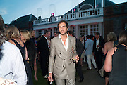 OSCAR HUMPHRIES, The Summer Party. Serpentine Gallery. 8 July 2010. -DO NOT ARCHIVE-© Copyright Photograph by Dafydd Jones. 248 Clapham Rd. London SW9 0PZ. Tel 0207 820 0771. www.dafjones.com.