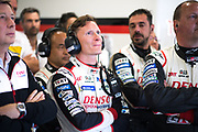 Mike Conway<br /> TOYOTA GAZOO  Racing. <br /> Le Mans 24 Hours Race, 11th to 17th June 2018<br /> Circuit de la Sarthe, Le Mans, France.