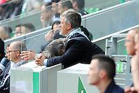 Laurent NICOLLIN - 26.04.2015 - Saint Etienne / Montpellier - 34eme journee de Ligue 1<br />Photo : Jean Paul Thomas / Icon Sport