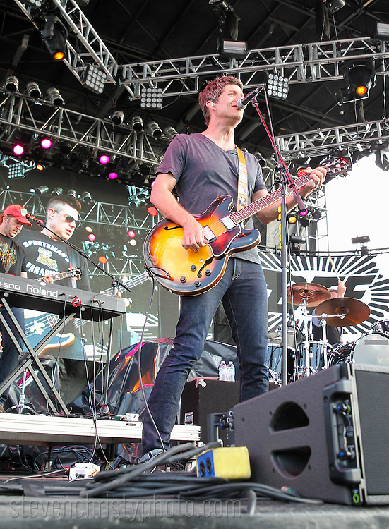 June 26, 2015: Better Than Ezra performs at day one of the OKC Fest music festival in downtown Oklahoma City, Oklahoma.