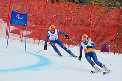 Millie Knight Guide: Rachel Ferrier, Women's Giant Slalom at the 2014 Sochi Winter Paralympic Games, Russia