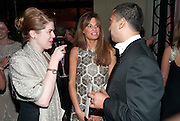 JEMIMA KHAN, Evgeny Lebedev and Graydon Carter hosted the Raisa Gorbachev charity Foundation Gala, Stud House, Hampton Court, London. 22 September 2011. <br /> <br />  , -DO NOT ARCHIVE-© Copyright Photograph by Dafydd Jones. 248 Clapham Rd. London SW9 0PZ. Tel 0207 820 0771. www.dafjones.com.