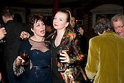 RUBY WAX; JUDITH OWEN; , Gala performance of  RUBY WAX- LOSING IT  in aid of  Comic Relief. Menier Theatre. London. 23 February 2011. -DO NOT ARCHIVE-© Copyright Photograph by Dafydd Jones. 248 Clapham Rd. London SW9 0PZ. Tel 0207 820 0771. www.dafjones.com.
