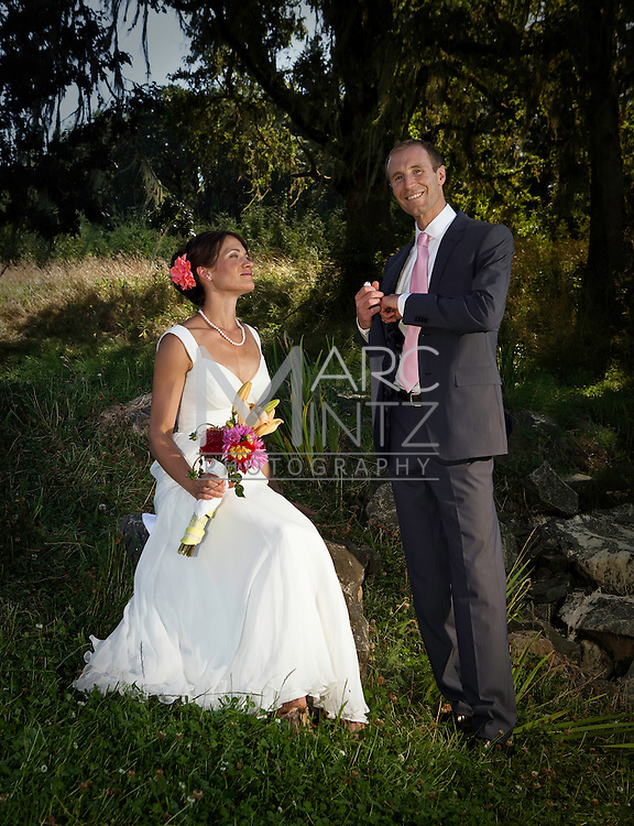 Jonathan and Sara's wedding.  Veneta, Oregon.