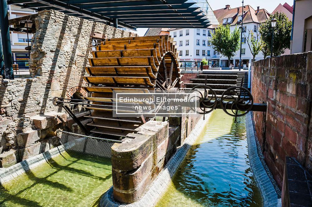 An old watermill in Haguenau, Alsace, France<br /> <br /> (c) Andrew Wilson | Edinburgh Elite media