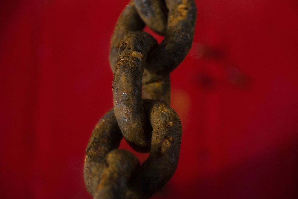 Anchor Chain, SV Maple Leaf, Gulf Islands, British Columbia, Canada