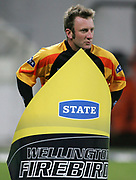 Wellington Firebirds player Chris Nevin during the State Twenty20 uniform launch held during the break in innings at the first Twenty20 match between the New Zealand Black Caps and Sri Lanka held at Westpac Stadium in Wellington, New Zealand on Friday, 22 December 2006. Sri Lanka won the match on Duckworth Lewis calculations. Photo: Tim Hales/PHOTOSPORT