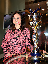 SOPHIE ELLIS-BEXTOR at a reception to unveil the ISAF World Match Racing Tour Championship Trophy at Garrard, 24 Albemarle Street, London W1 on 7th November 2011.