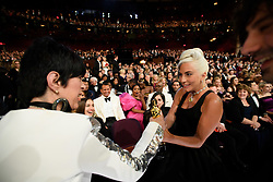 After winning the Oscar® for music written for motion pictures (original song), Lady Gaga with Diane Warren during the live ABC Telecast of The 91st Oscars® at the Dolby® Theatre in Hollywood, CA on Sunday, February 24, 2019.