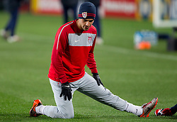 Benny Feilhaber during training session of USA National team before FIFA World Cup 2010 soccer match against Slovenia at  Ellis Park Stadium on June 17, 2010 in Johannesburg, South Africa.  (Photo by Vid Ponikvar / Sportida)