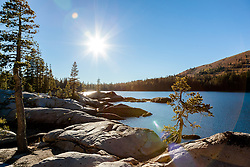 """White Rock Lake 2"" - Photograph of the Tahoe backcountry lake called White Rock Lake."