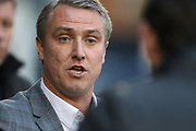 Bury manager Lee Clark during the EFL Sky Bet League 1 match between Bury and Rochdale at the JD Stadium, Bury, England on 13 April 2017. Photo by Daniel Youngs.
